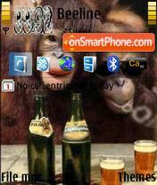Monkey Fun theme screenshot