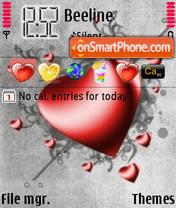 Скриншот темы Heart2