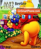 Pooh 12 theme screenshot