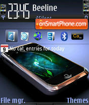 iPhone Dream es el tema de pantalla