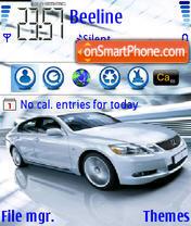 Lexus 04 es el tema de pantalla