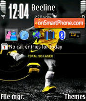 Nike Total theme screenshot