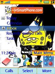Gubka Bob theme screenshot