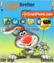 Pozdravlenija theme screenshot