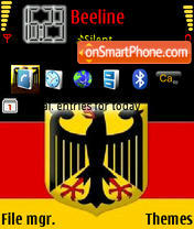 Germany 01 theme screenshot