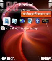 Redstar1 theme screenshot