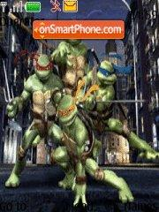 Ninja Turtles theme screenshot