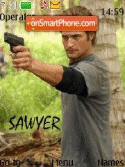 Sawyer Lost theme screenshot