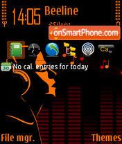 Deejay 01 theme screenshot