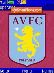 Aston Villa theme screenshot