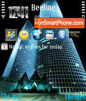 Towers theme screenshot