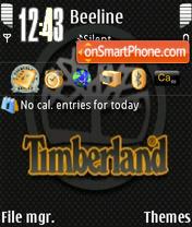 Timberland es el tema de pantalla