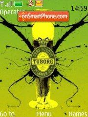 Tuborg es el tema de pantalla