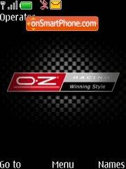 OZ Racing theme screenshot