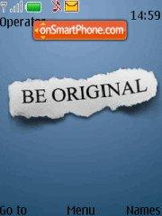 Be Original tema screenshot