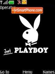 Capture d'écran Playboy thème