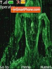 The Matrix Theme tema screenshot