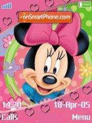 Скриншот темы Minnie