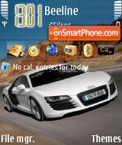 Audi R8 theme screenshot