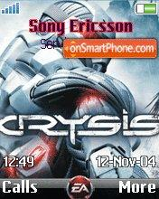 Crysis for Mobile es el tema de pantalla