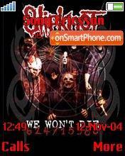 Slipknot_2 theme screenshot