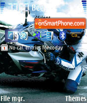 Скриншот темы Suzuki Gsxr