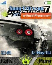 Need for Speed Pro Street es el tema de pantalla
