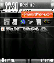 Nokia s60v3 theme screenshot