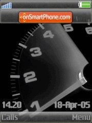 Speed w910i theme screenshot