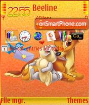 Bambi and Friends theme screenshot
