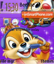 Chip-N-Dale theme screenshot