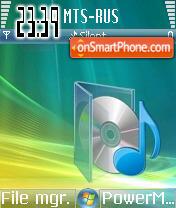 Vista Music es el tema de pantalla