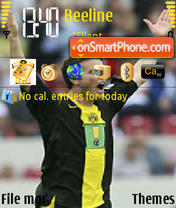 Alex Frei theme screenshot
