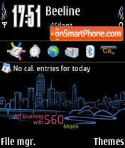 Miamiaew S60 240x320 theme screenshot