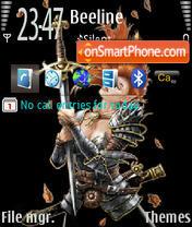 Knight theme screenshot