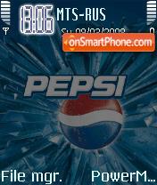 Animated Pepsi theme screenshot