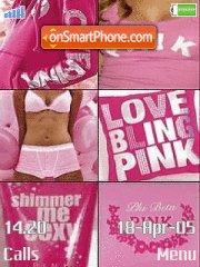 Pink Collage es el tema de pantalla