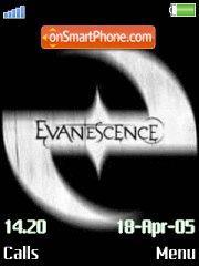 Скриншот темы Evanescence 05