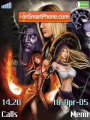 Warcraft Dota 01 es el tema de pantalla