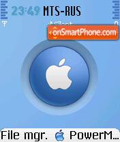 MacOS X Aero theme screenshot