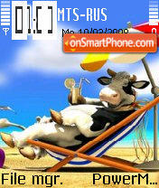 Cow2 theme screenshot