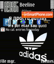 Adidas 26 theme screenshot