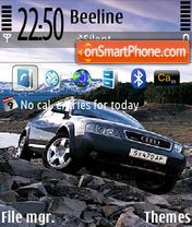 Скриншот темы Audi Def