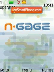 Capture d'écran N Gage thème
