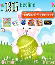 Happy Easter theme screenshot