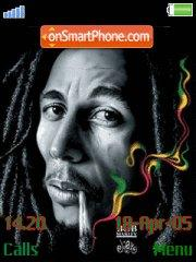 Скриншот темы Bob Marley