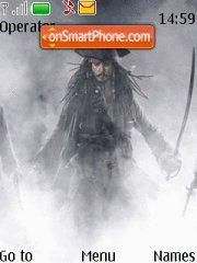 Captain Jack Sparrow theme screenshot