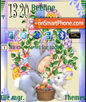 Easter Time theme screenshot