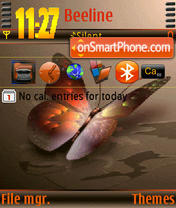Butterfly n73 theme screenshot