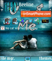 U&me s60v3 theme screenshot